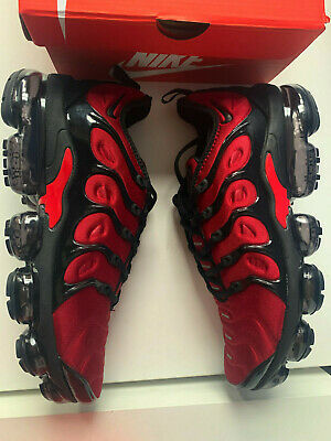 Nike Vapor max plus red size 7.5 UK / 42 EU Red / black AO4550 006