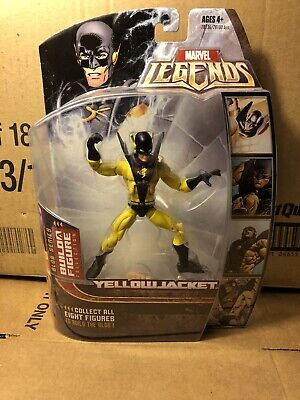 "2006 Hasbro Marvel Legends Blob BAF Series YELLOWJACKET 6"" Figure MOC"