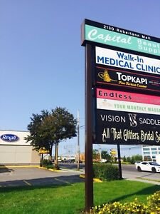 Medical space for lease in prime retail area