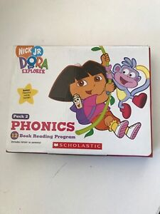 NEW DORA the Explorer SCHOLASTIC Book  Reading Program