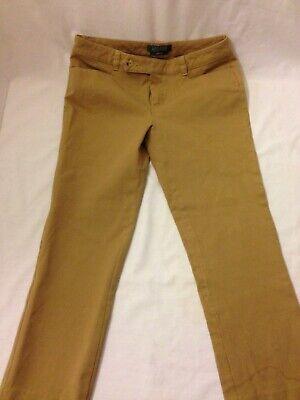 Ralph Lauren Adelle Crop Pants Womens Petites Size 4P Tan