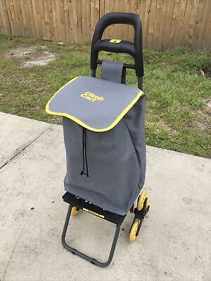 Climb Cart Stair Climbing Folding Lightweight Utility Trolley Up To 75 Lb Used