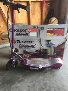 Electric scooter  Razor e150