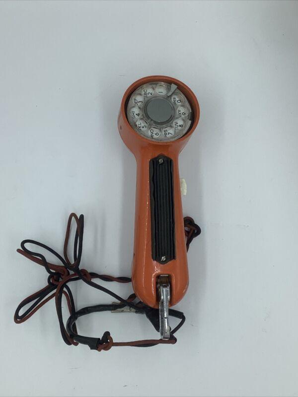 AT&T Lineman Rotary Telephone Test Set Handset But Set Line Repair tester