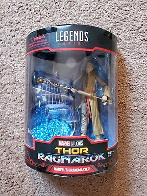 "Hasbro SDCC 2019 6"" Marvel Legends The Grandmaster figure Thor Ragnarok 2 Pack"