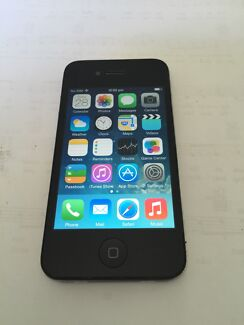 IPHONE 4 BLACK 16GB UNLOCKED GOOD CONDITION  Cabramatta West Fairfield Area Preview