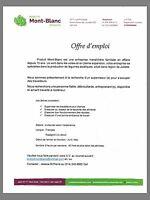 Offre d'emploi Superviseur (e)