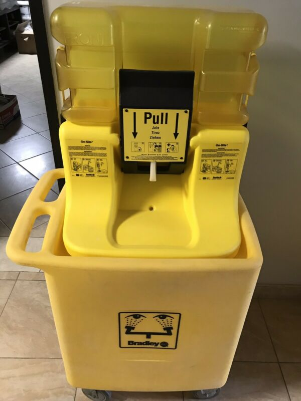 Bradley Eye Wash Station - Price For One Each