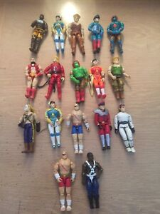 Street Fighter Figure Lot