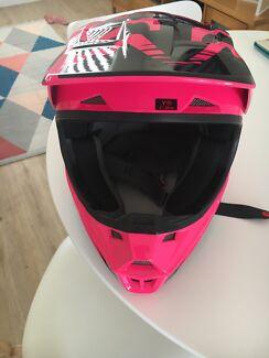 Fox motor cross helmet
