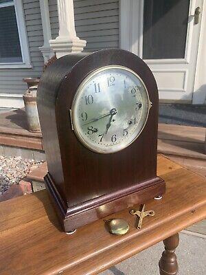 """Restored Antique 1920 Seth Thomas """"Chime Clock No. 11"""" no.119 Westminster Mvmt"""