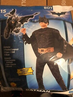 Halloween Costume Boy's Batman Small, or Medium or Large NEW - Boys Halloween Costume