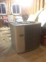 Carrier air conditioner with matching coil