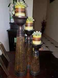 Balinese candle holders Ipswich Ipswich City Preview