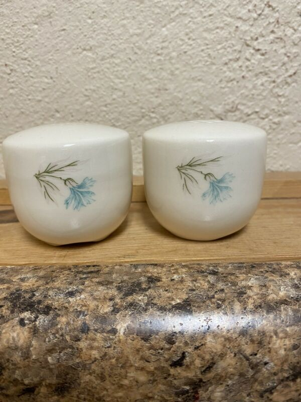 Vintage Taylor Smith & Taylor Ever Yours Boutonniere Salt and Pepper Shakers