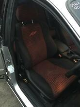 HOLDEN COMMODORE VY SS SEATS INTERIOR TRIM SEDAN BLACK RED CLOTH Kingswood Penrith Area Preview