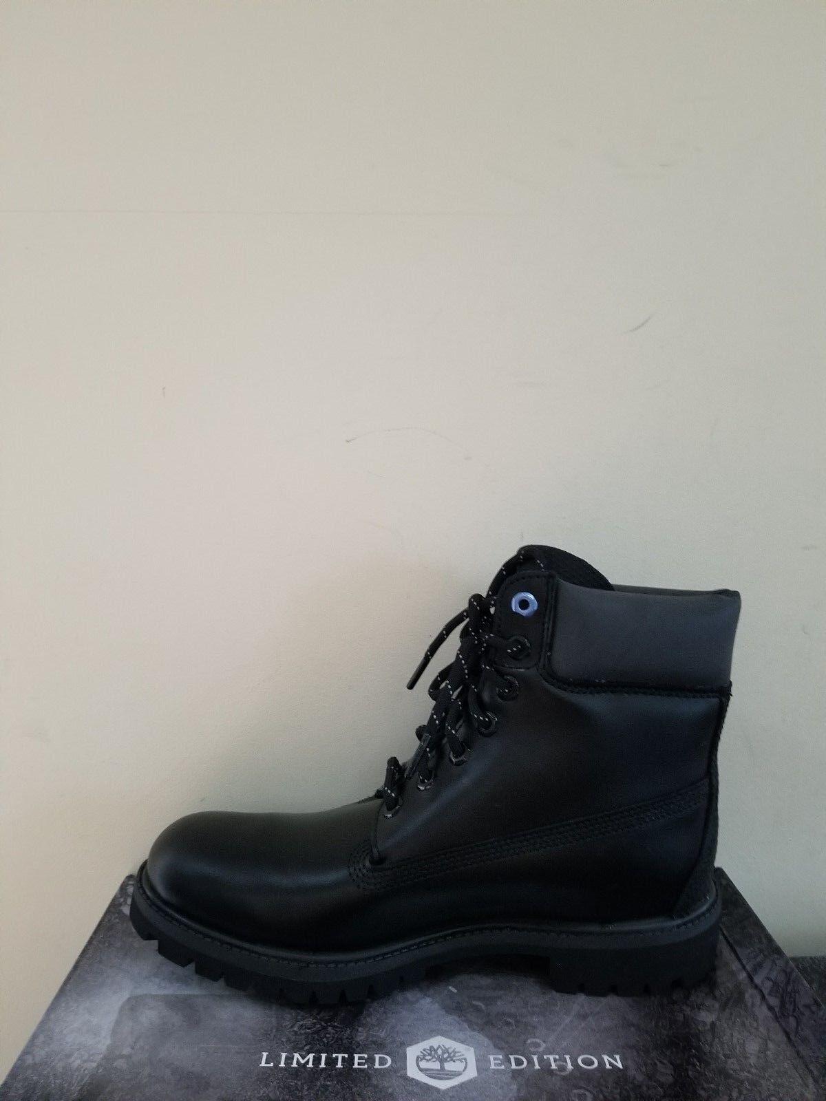 Timberland Women's Black Ice 6-Inch Premium Waterproof Boots Limited Edition NIB 1