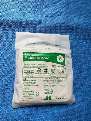 Cardinal Health Lot Of 15 Protexis Pi With Neu-thera Size 8 2d73te80 Exp 2022