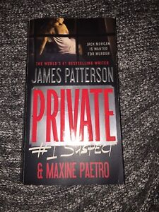 James Patterson book for sale