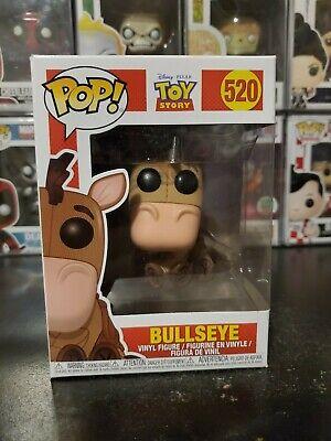 Funko Pop! Disney Pixar Toy Story Bullseye #520 Vinyl Figure WITH PROTECTOR!
