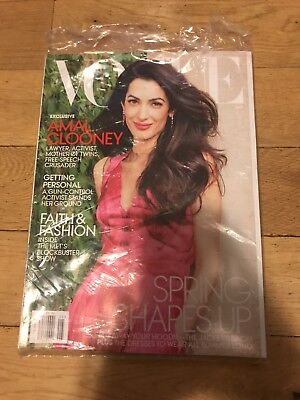 Vogue Magazine Amal Clooney May 2018 Spring Shapes Up for sale  Venice