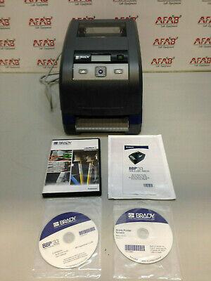 Brady Bbp33 Label Printer With Software