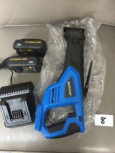mastercraft saw and batteries
