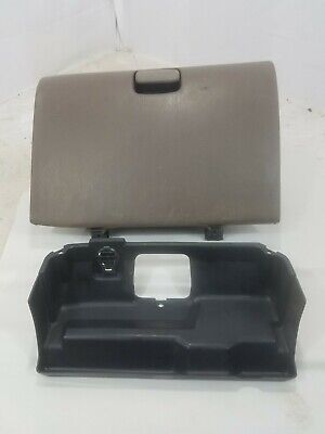00-06 TOYOTA TUNDRA PICKUP TRUCK OEM GLOVE COMPARTMENT BOX BROWN OEM W/ Insert .