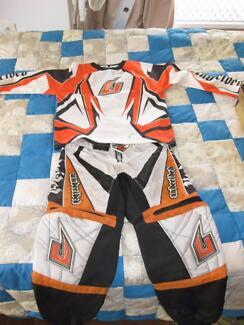 Kids Youth Motocross Motox Pants and Jersey combo
