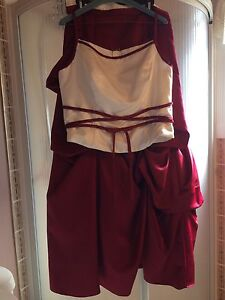 2 pc Alfred Angelo Dress