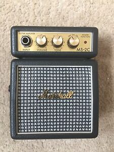 Marshall Mini Portable Amplifier MS-2C Marion Marion Area Preview