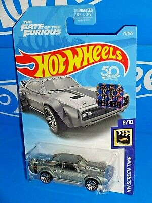 Hot Wheels Factory Set 2018 Screen Time #79 Ice Charger The Fate of the Furious