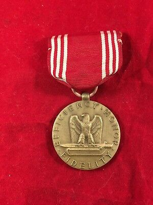 WW2 Medal US Army-In Good Conduct Efficiency Honor Fidelity *unnamed