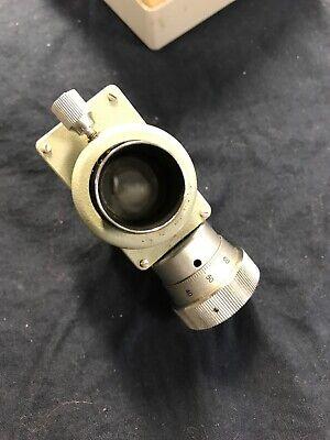 Carl Zeiss Jena K15x Filar Micrometer Eyepiece