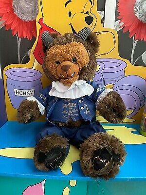 """Disney Build A Bear 19"""" Beauty And The Beast Plush Teddy Bear Soft Toy"""