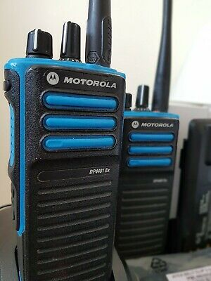 Motorola Handheld Radio Digital Dp4401ex Atex