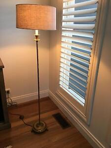 Solid Brass Floor Lamp Brighton Bayside Area Preview