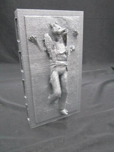 Jar Jar Binks in Carbonite Display Star Wars (Two Tone Finish)