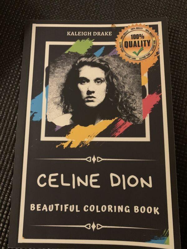 celine dion coloring book