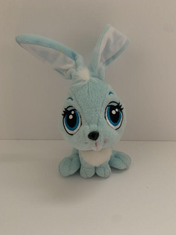 """Rare Mattel Diva Starz Blue Bunny Rabbit Red Collar Plush 2001 6"""""""