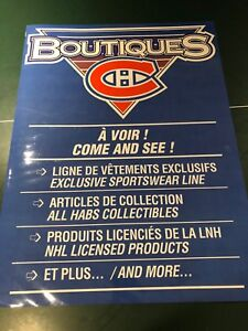 Boutiques Canadiens Poster