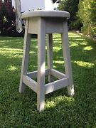Old sturdy stool vintage retro Annerley Brisbane South West Preview