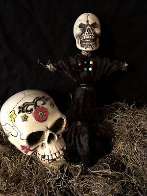AUTHENTIC VOODOO DOLL BLACK-WITH -