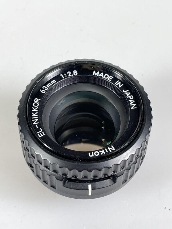 Nikon EL-Nikkor 63mm f/2.8 Enlarging Lens 39mm Mount