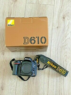 Nikon D D610 24.3MP Full Frame FX Digital SLR Camera Body Only, 13K Shutter!