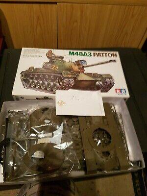 Panzermodellbausatz 1:35 Tamiya M48 Vollständig OVP