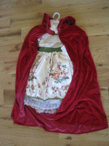 Red Riding Hood Costume Child Size 4 Princess Paradise NEW