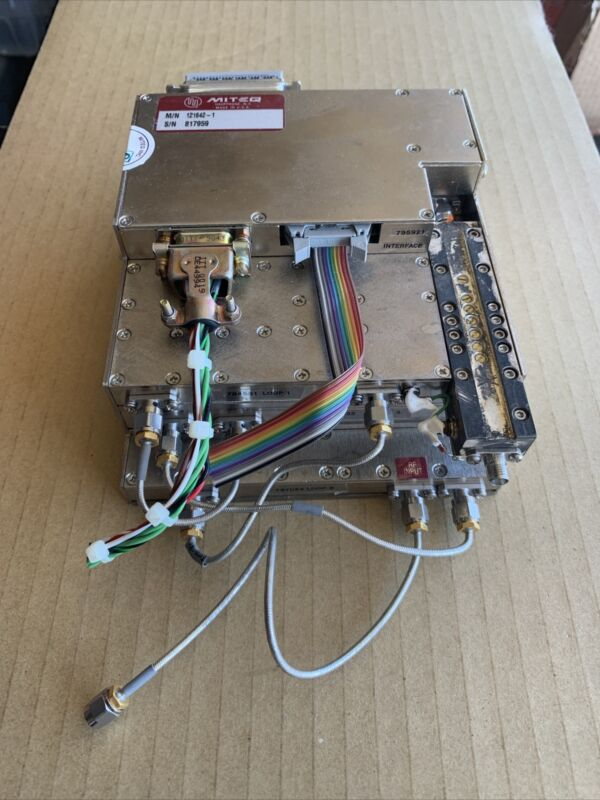 MITEQ Microwave Module 121642-1 SMA IF RF