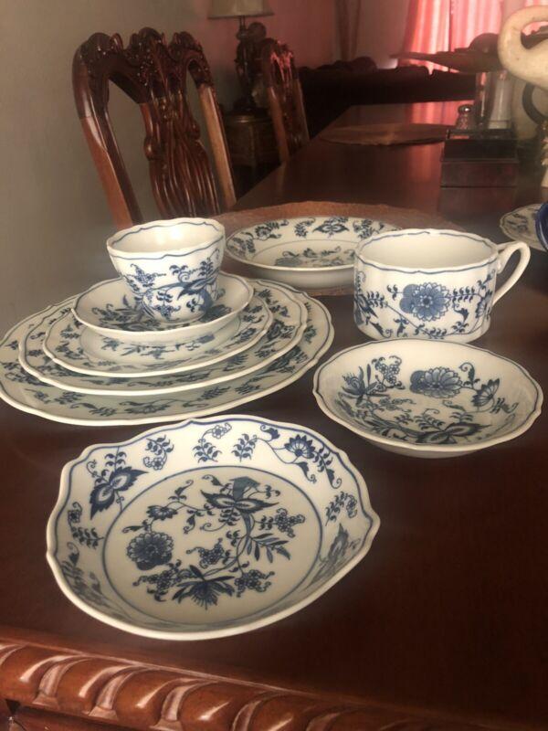 blue danube china dinnerware One Set