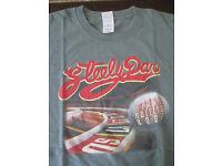 Vintage 1990s Steely Dan Donald Fagen Tour Reprint Gildan T-Shirt Women V1555